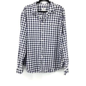 Lacoste   Long Sleeve Button Front Shirt